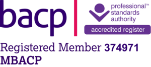 Home. BACP registration logo